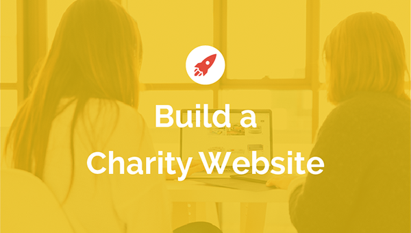 Build a charity website in 4 easy steps