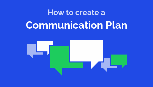 Create a charity communications plan - free example template
