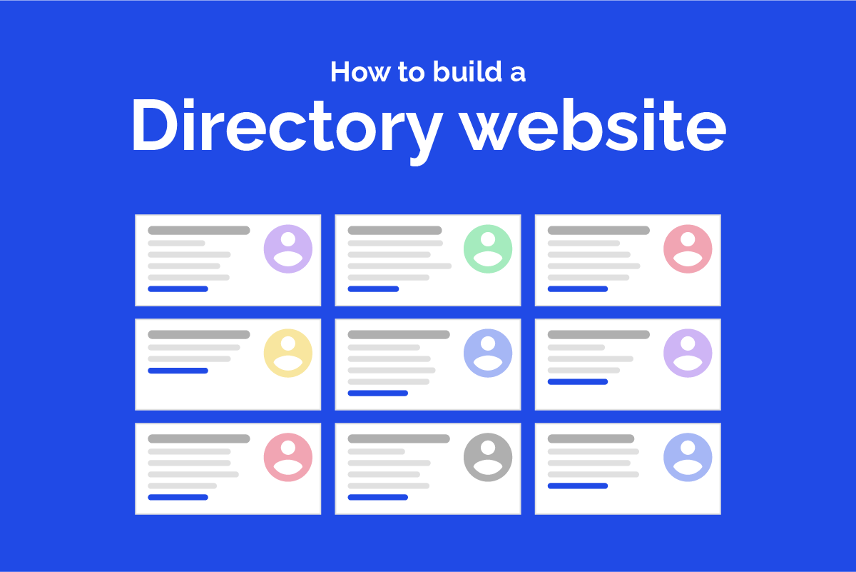 How to build a great directory website