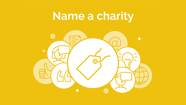 Charity names - How to choose a good one