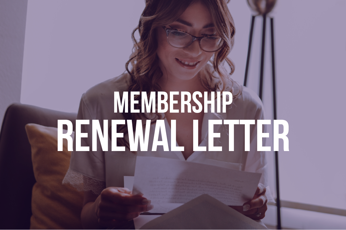 How to write a membership renewal letter: 8 strategies for success
