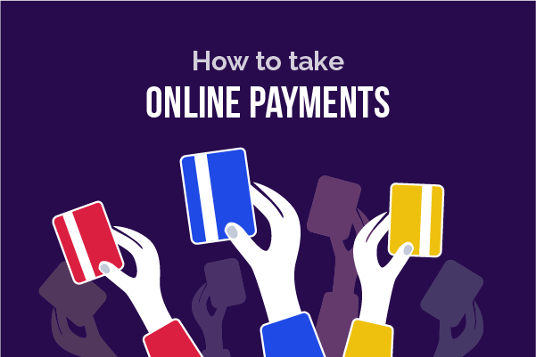 How to take payments through your website