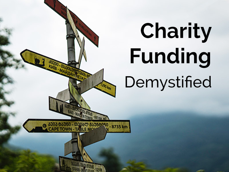 Charity grant funding - trusts, foundations & more