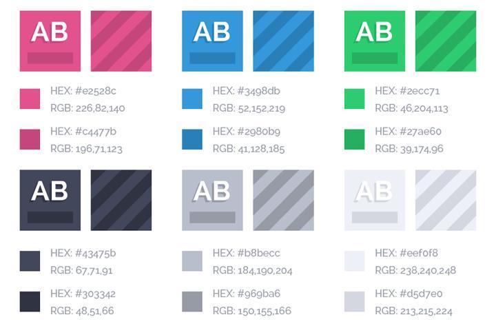 colour palette example
