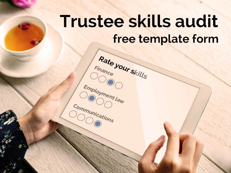 Trustee skills audit - free survey template