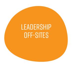 Leadership off-sites