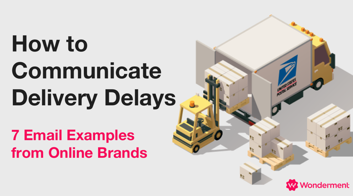 ecommerce shipping delays email examples