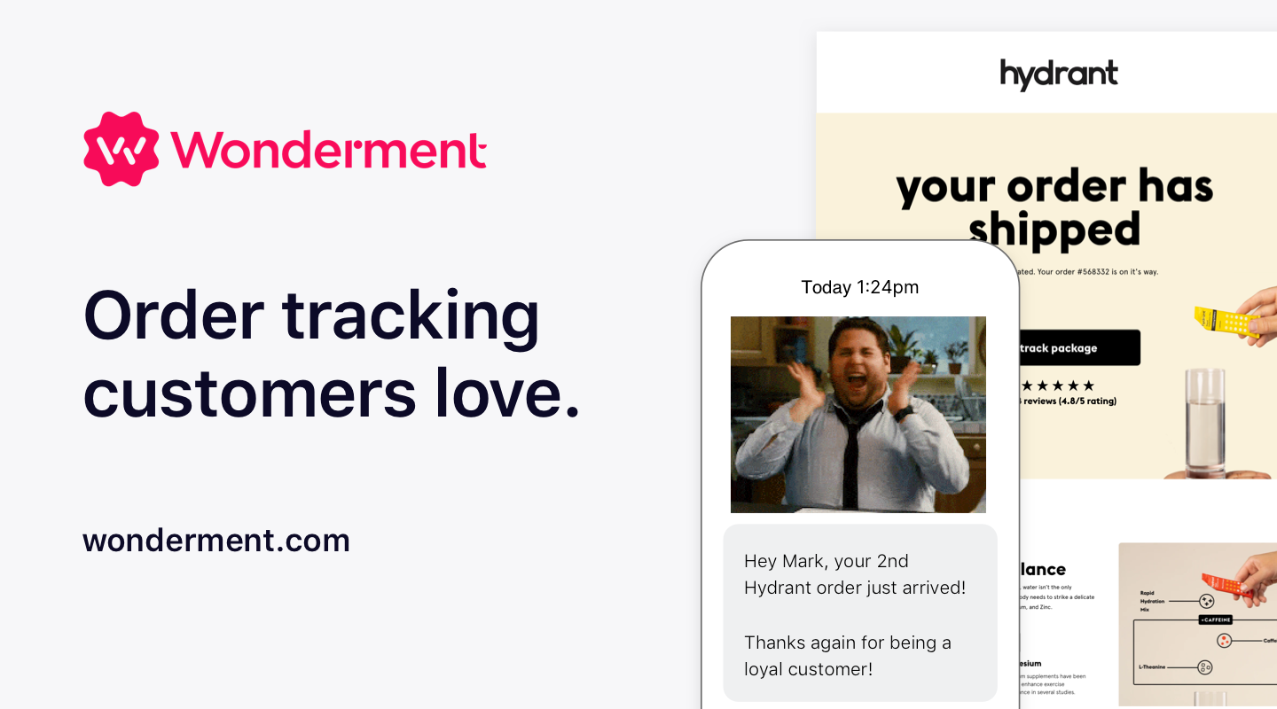 Introducing Wonderment: The shipping communication platform. Bigger, Better. And Now - Free.