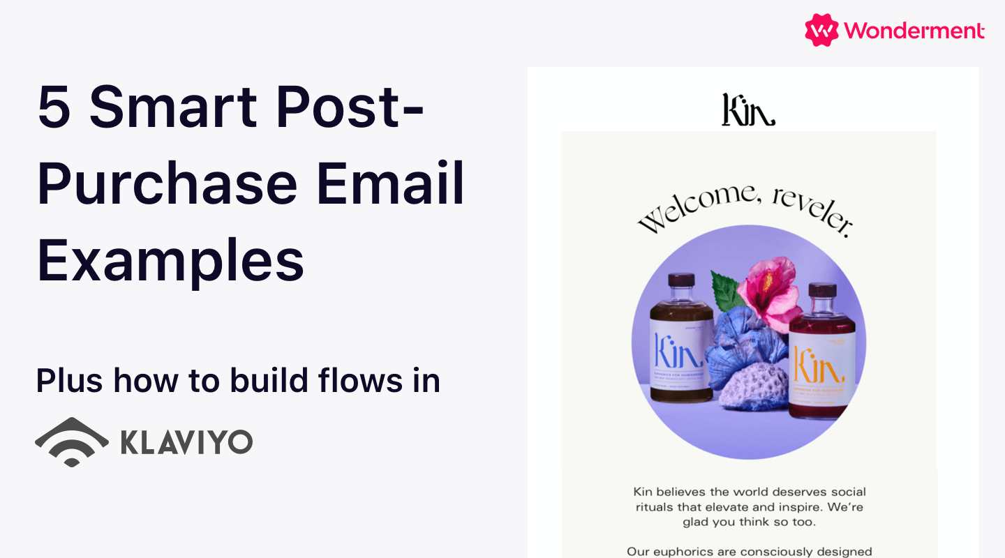 5 Smart Post-purchase Email Examples (Pre-Delivery Edition)