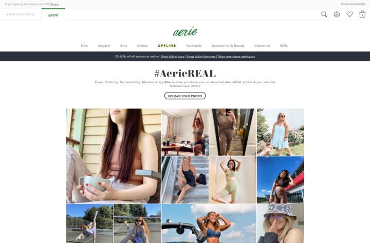 user generated content example
