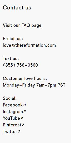 customer support via sms retail marketing