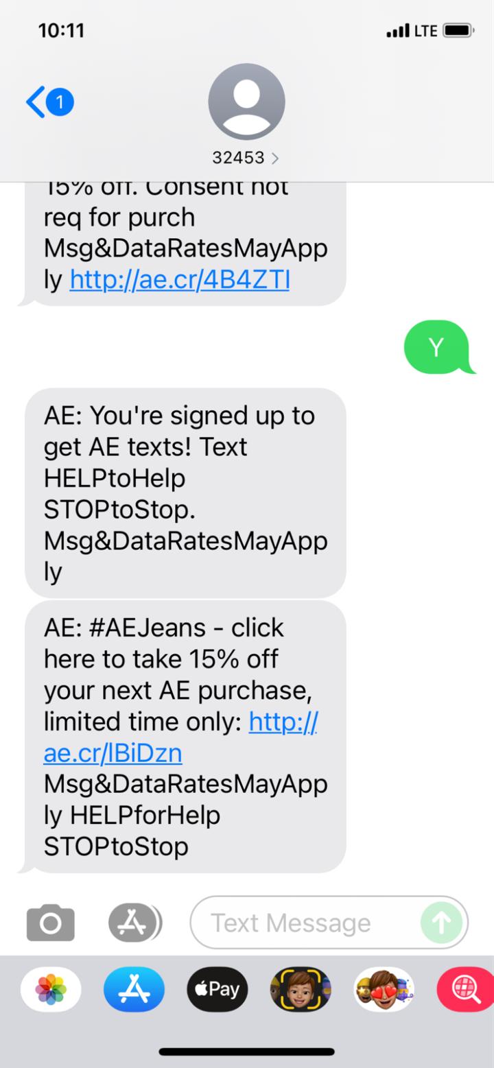 ecommerce sms promotion loyalty program