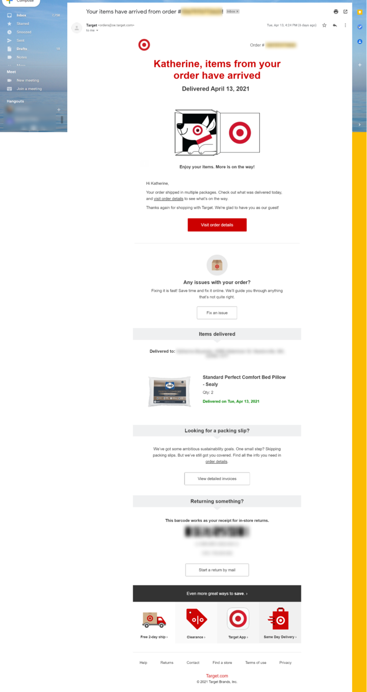 post purchase email post purchase confirmation