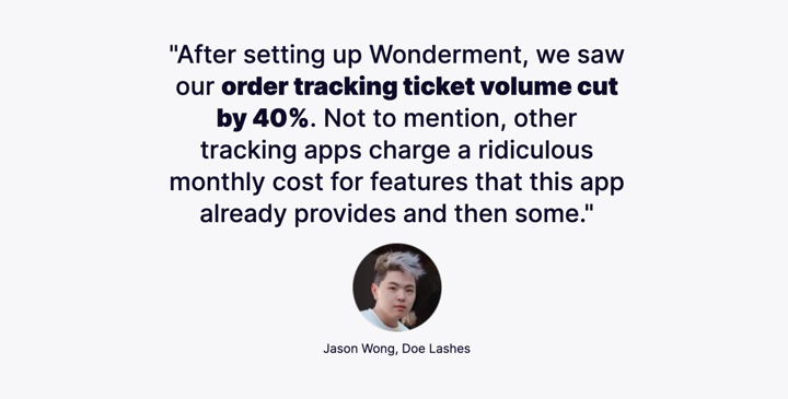 wonderment customer - doe