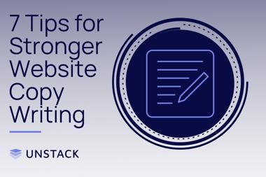 7 Tips for Stronger Website Copywriting