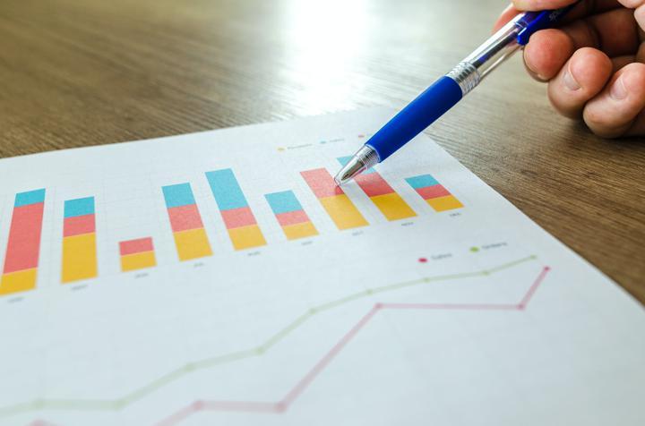 analytics example photo of graphs
