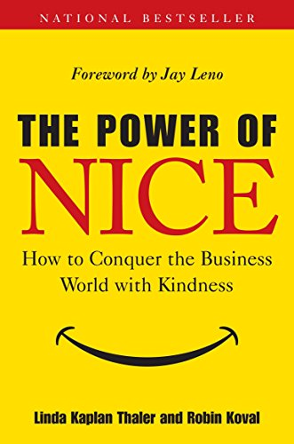 the best books for starting a business example the power of nice