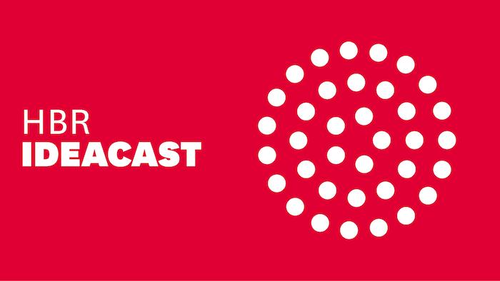 HBR Ideacast podcast logo