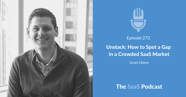 the saas podcast episode with grant deken