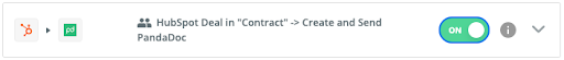 create contact automation in HubSpot