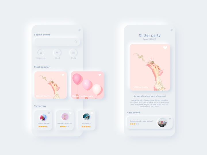 custom illustration examples with 3D phones