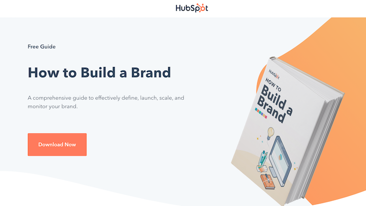 ebook marketing landing page for HubSpot