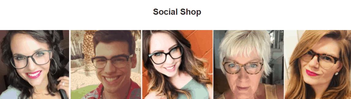 glasses usa social proof