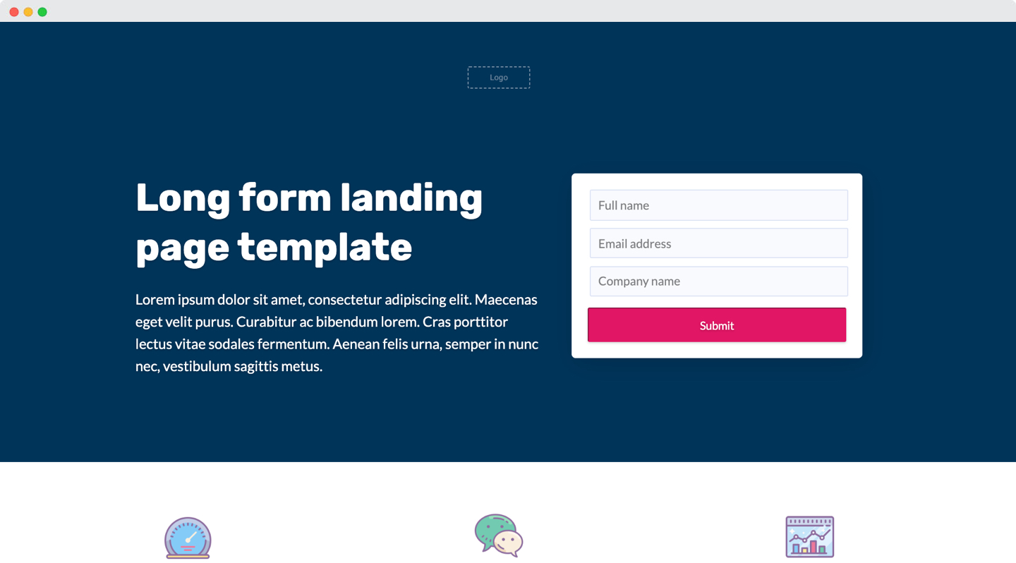 Lead Capture Landing Page