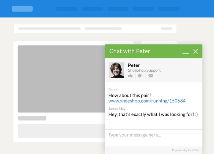 live chat box