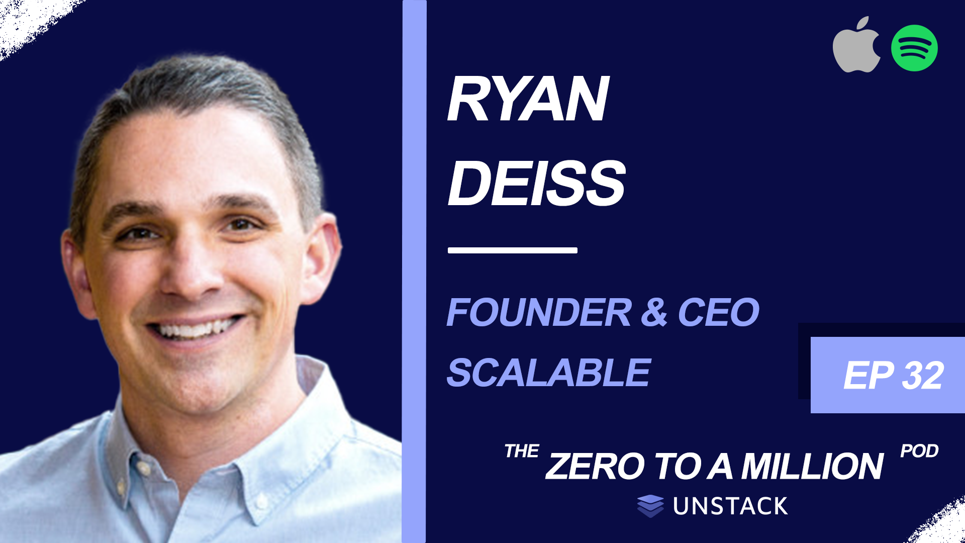 Zero to a Million, Episode 32: Ryan Deiss, CEO & Founder of Scalable
