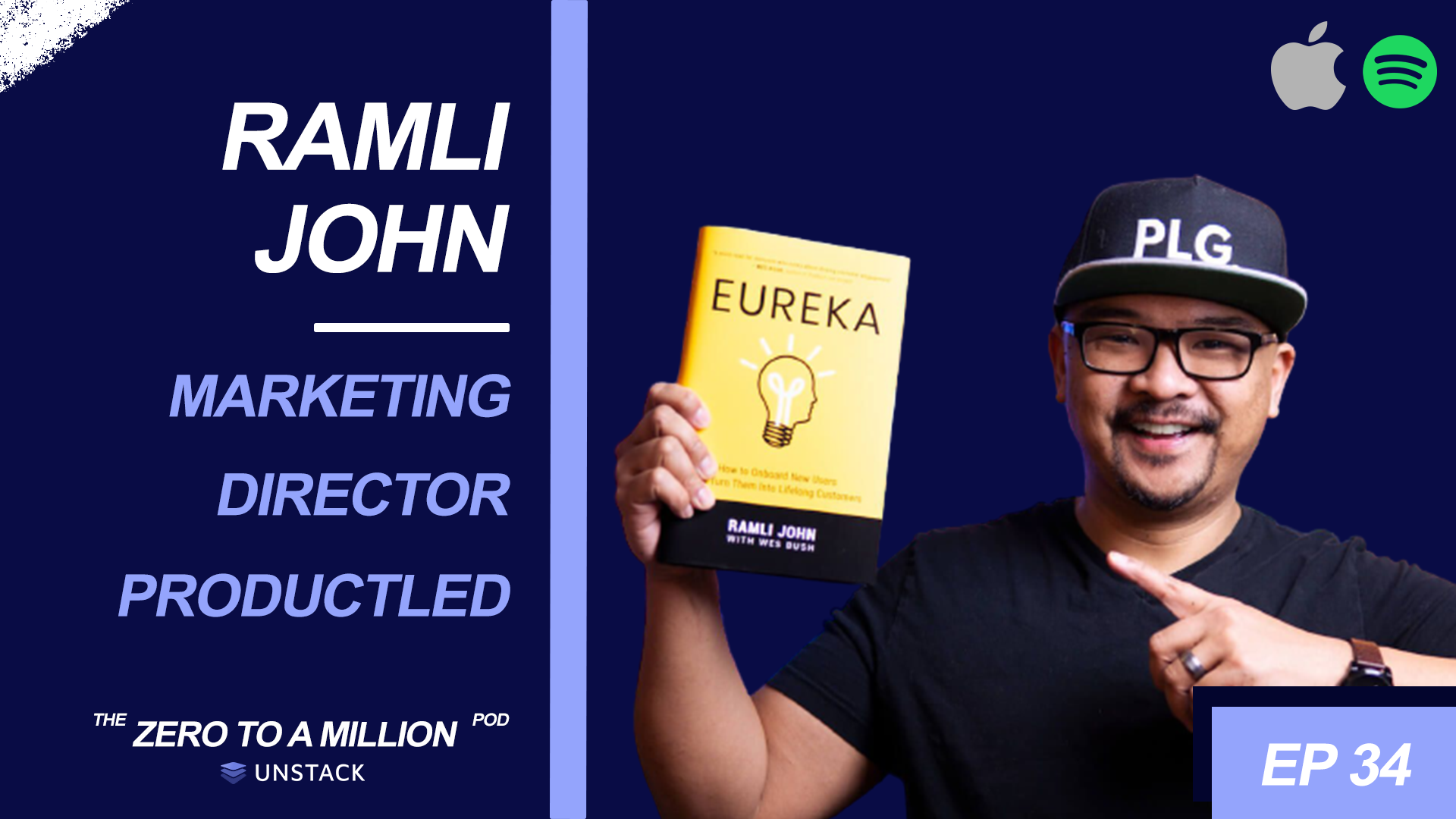 Zero to a Million, Episode 34: Ramil John, ProductLed