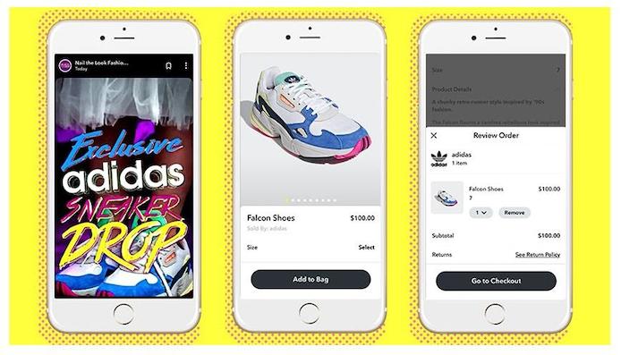 snapchat marketing example