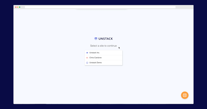 Unstack Agency-ready Multi-Site Authentication tool