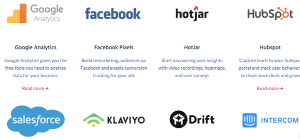 HubSpot and Klaviyo integrations