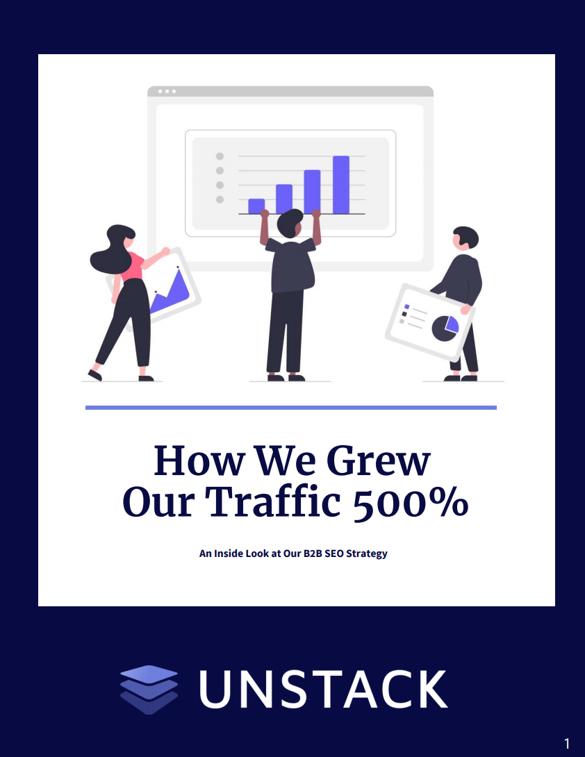 500% seo growth