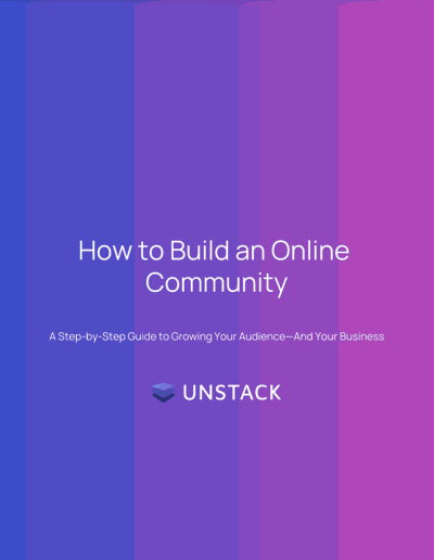 How To Build An Online Community — Content Download