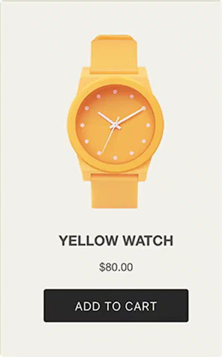 Shopify Buy Button - Add to Cart