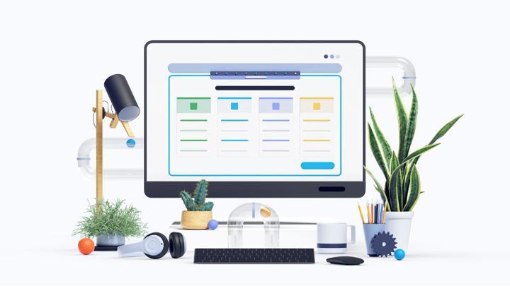 create website image