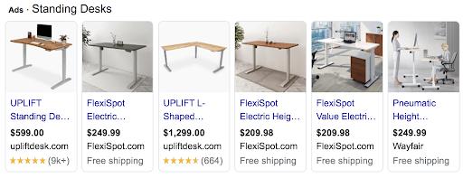 Standing Desk Ads
