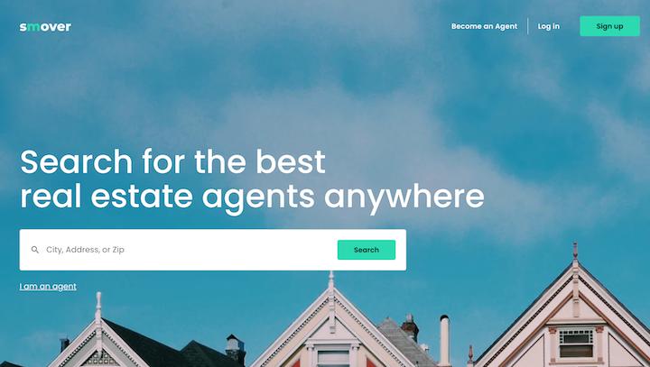 smover startup landing page