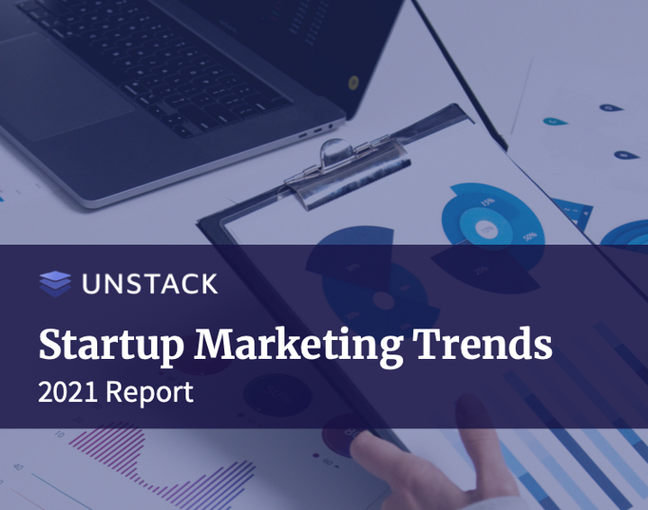 startup marketing trends report