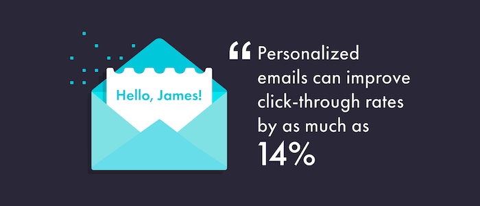 personalized email metrics