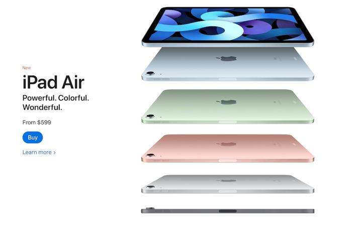branding example from Apple