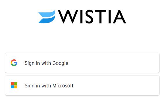 wistia signup